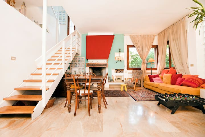 Blue room in the trees - Milaan - Huis