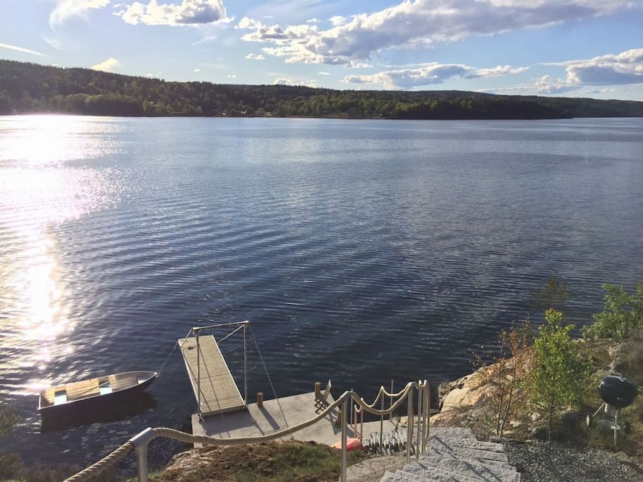 The property is situated as an island in a protected recreation area, totally undisturbed.