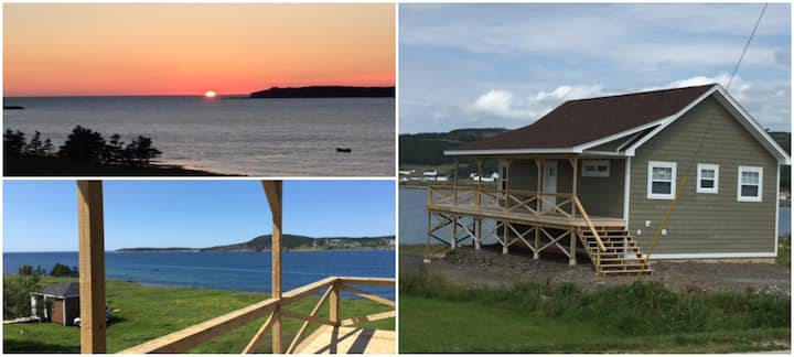 Ocean Paradise!  NEW 2-BD cottage in Rocky Harbour