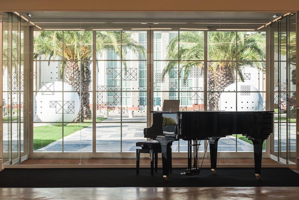 galeria de arte / concertos