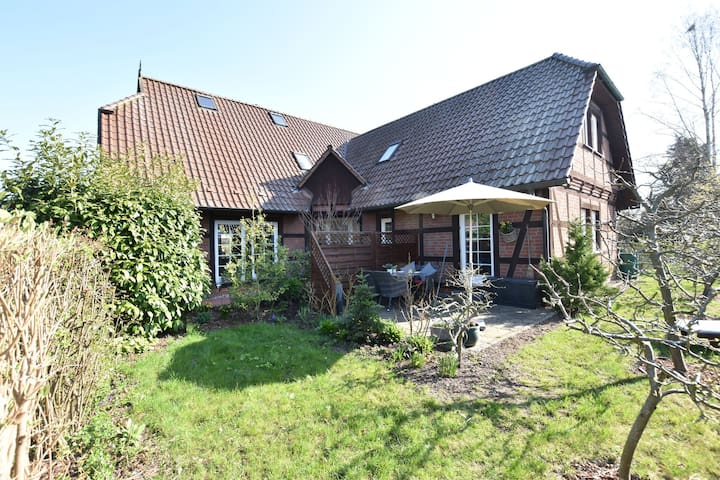 Picturesque Holiday Home in Kritzmow with Garden