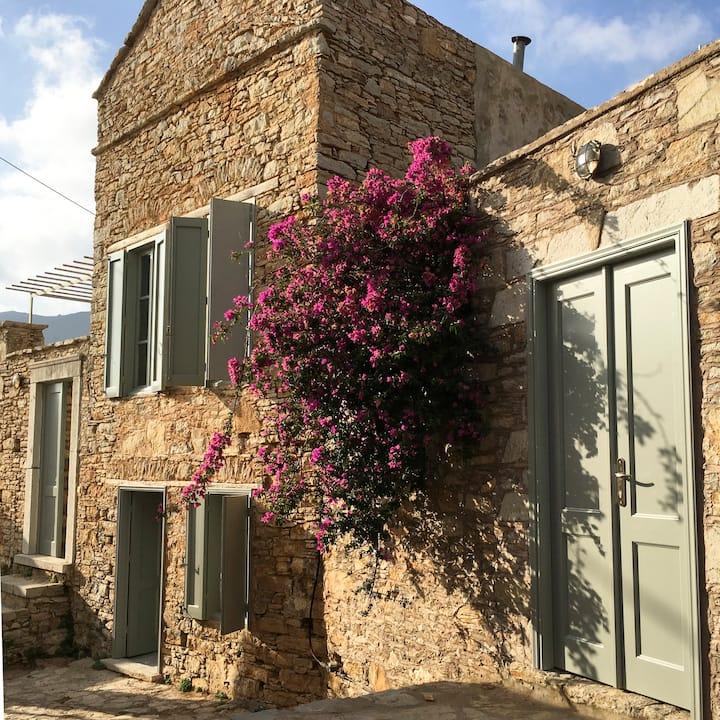 Little hilltop villa -Prokos House