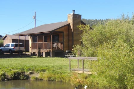 2BR/1BA Cabin on Main Street with Pond/Firewood