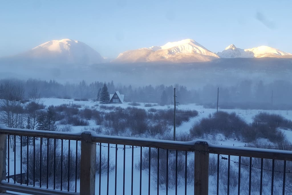 The View - Sunrise on a Cold Silverthorne Winter Morning