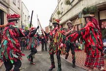 The Stroud Wassail Group - a colourful spectacle for the winter