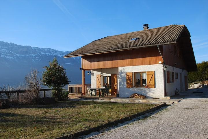 Chalet entre Grenoble & Chambéry ch.1