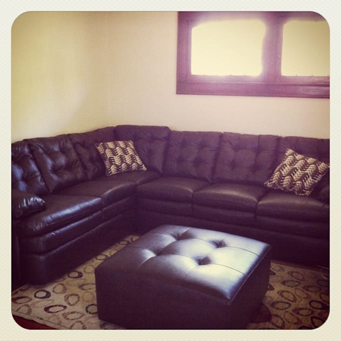 Cozy living room sectional