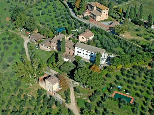 Country House in Siena ID 3600
