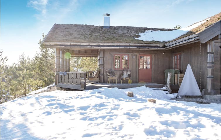 Holiday cottage with 4 bedrooms on 132m² in Treungen