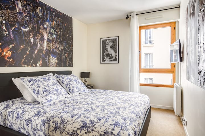 55m2 ! Luxury and cozy flat with garden 5' Paris