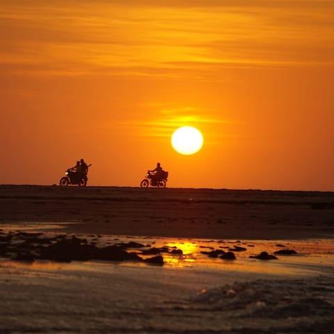 Sunset en tatajuba