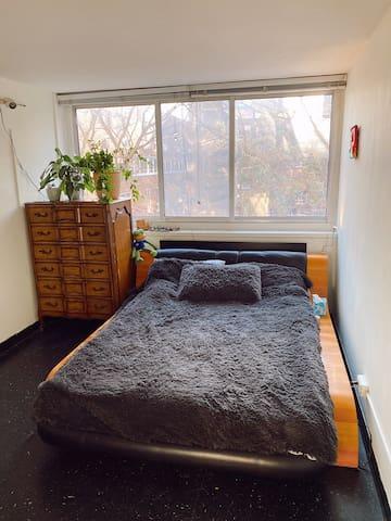 Cozy and bright room in 2 bedroom apartment