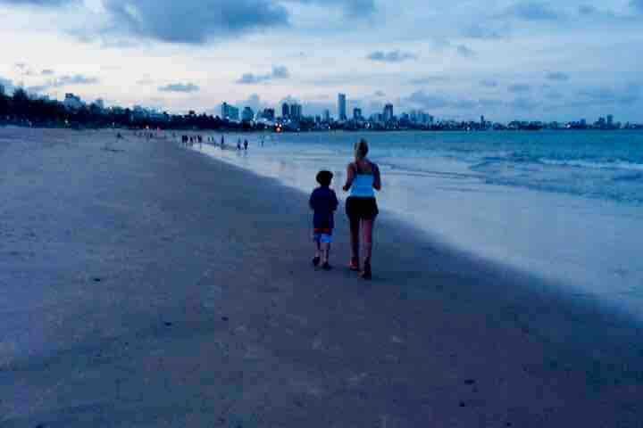 Família vai à Praia