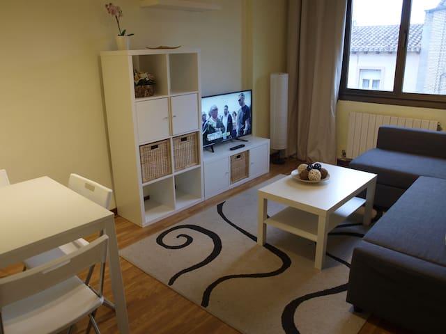 Céntrico y cómodo apartamento con WIFI en Logroño