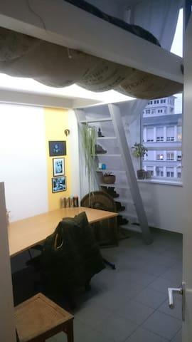 Zimmer in einer Loft-Wohnung. - Wetzlar - Huoneisto