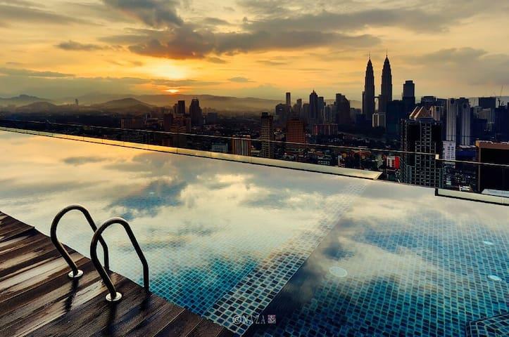 MoPzY Studio @ REGALIA KL View - Kuala Lumpur - Appartement