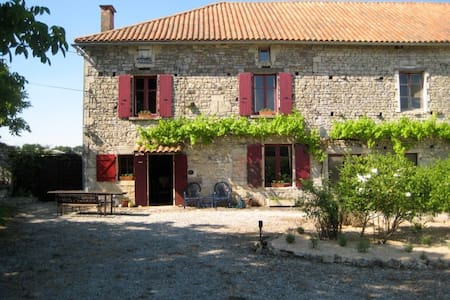 Charming 250yr old farmhouse. - Sauzé-Vaussais