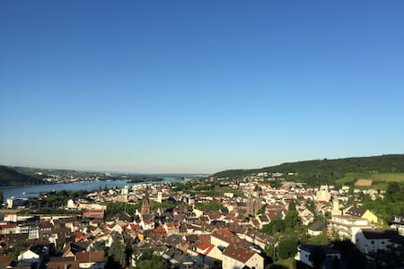 Apartment with fantastic view and pool - Bingen am Rhein