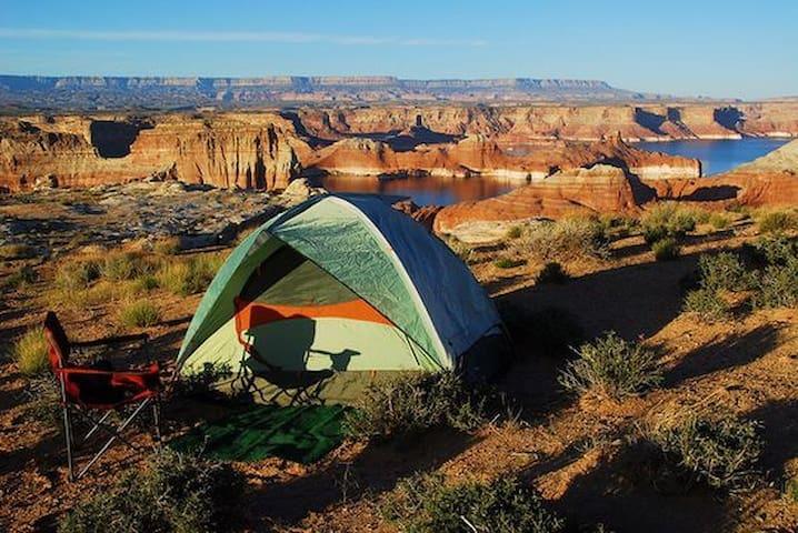 Camping Equipment- Southern Utah