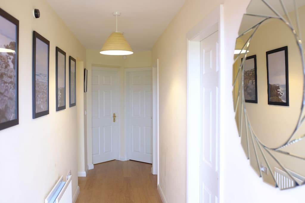 Spacious Hallway