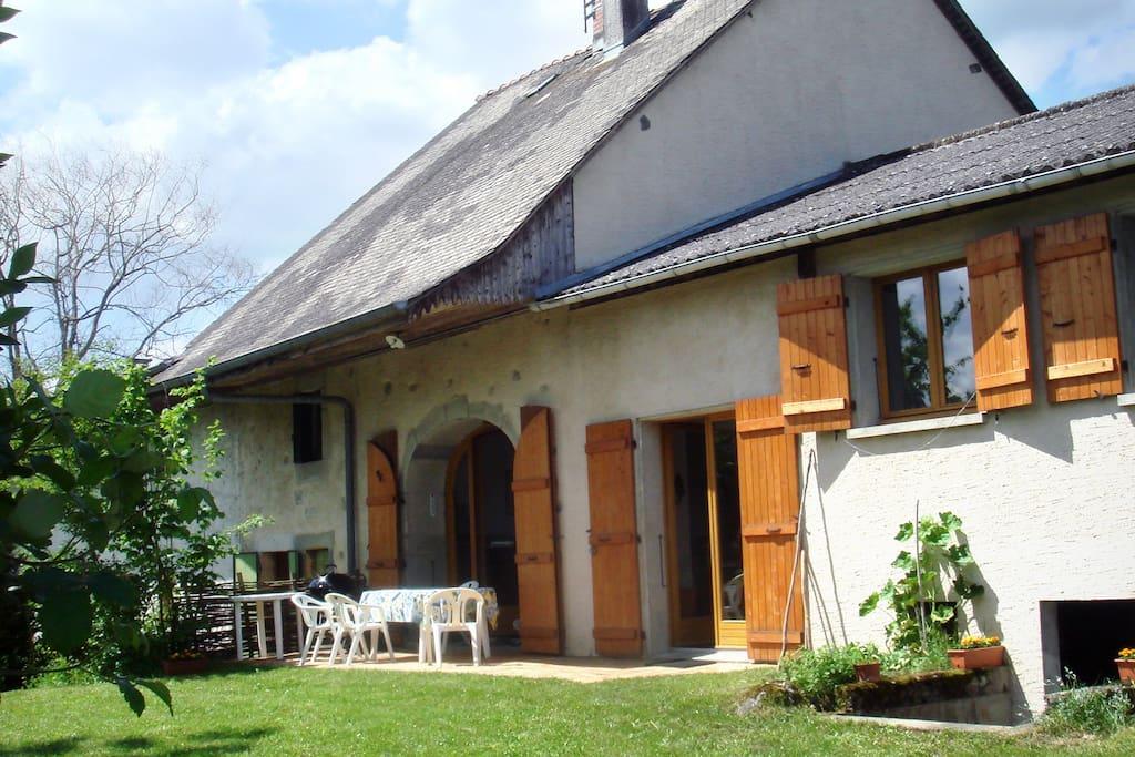 Maison entre annecy et aix les bains maisons louer for Annecy location maison