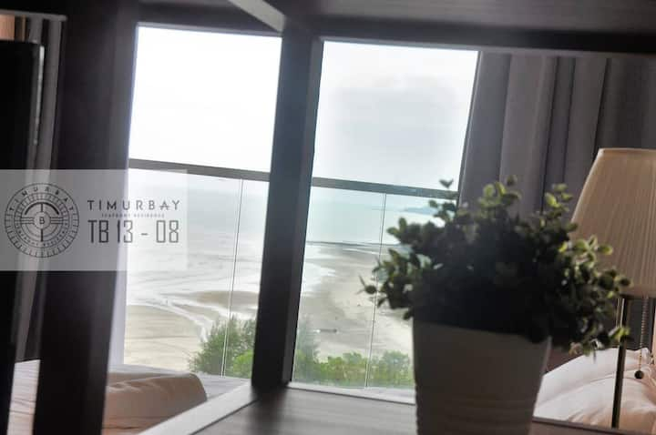 Tenang @TimurBay Seaview cozy  apartment