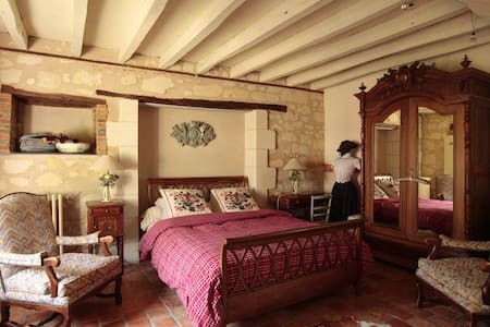 Chambre Cannelle  de la Chouanniere - Brion - Bed & Breakfast