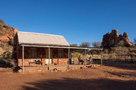 Private accommodation off the beaten track