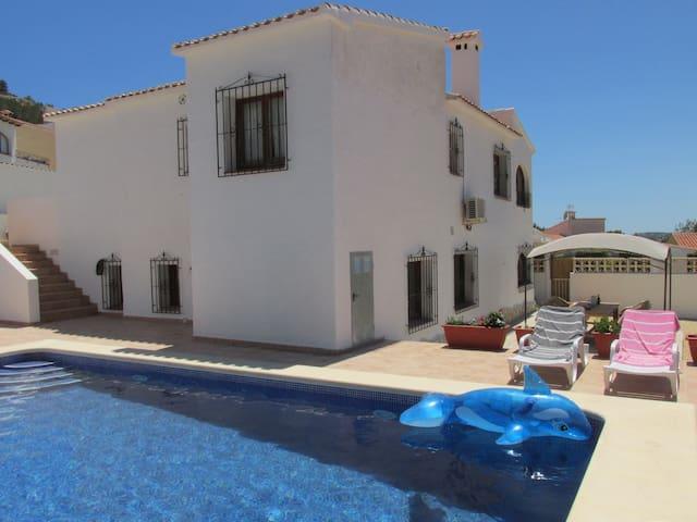 Vrijstaande villa met privé zwembad - Benitachell - Hus