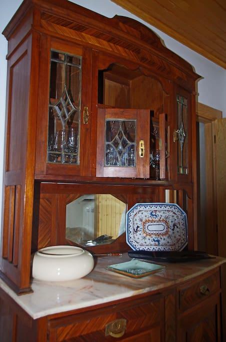 Louceiro original da casa (recuperado)
