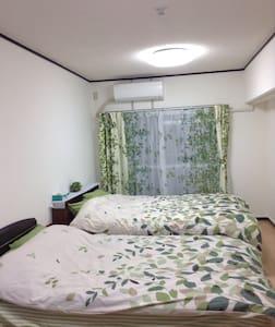 春意盎然的公寓、距离博多站步行5分钟。干净,舒适,家电一应俱全。 - Fukuoka-shi - Appartement