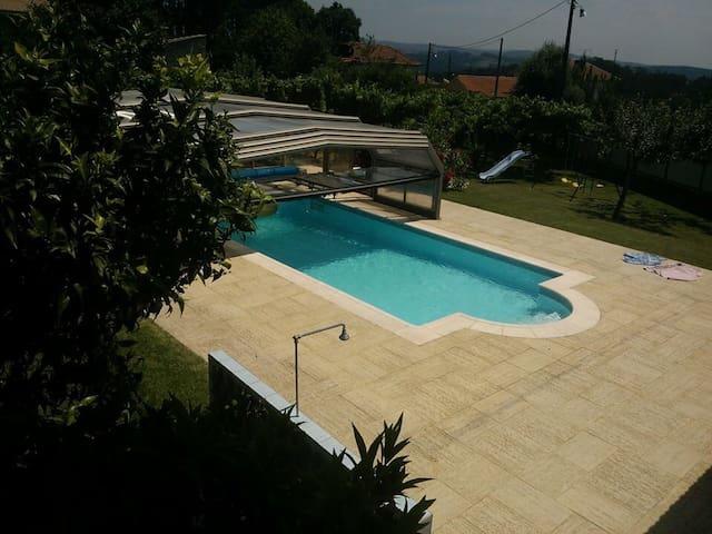 Maison avec Piscine proximité PORTO - Sandim - Appartement