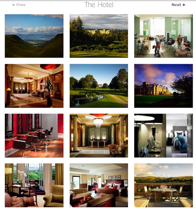 Full access to All The Gleneagles Hotel Facilities