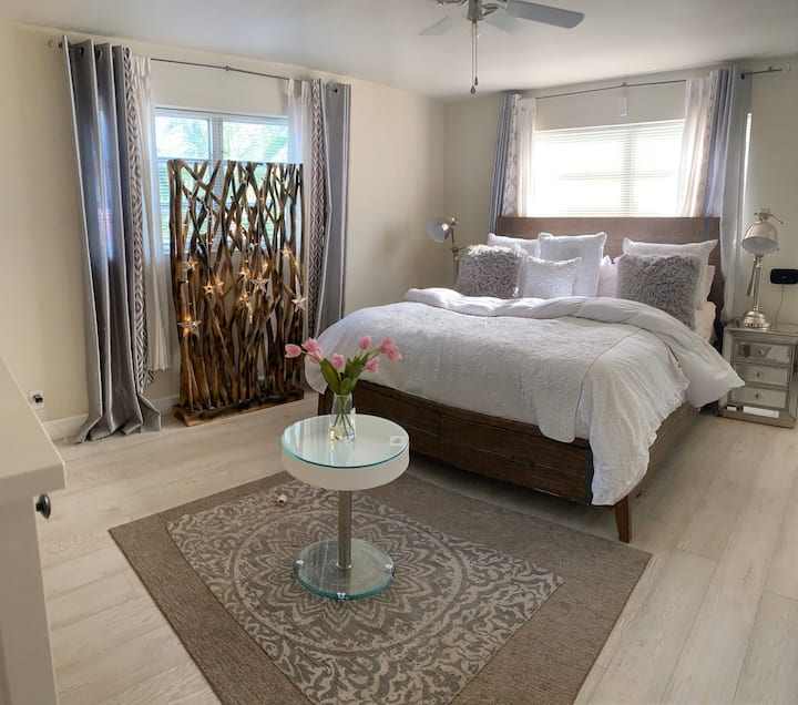 1 Private Master Bedroom with separate entrance