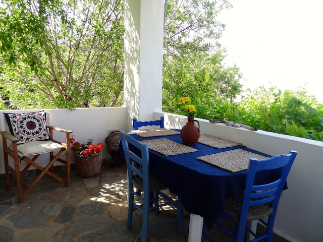 Villa Perivoli with  sea & mountain views - Drimiskos - Hus