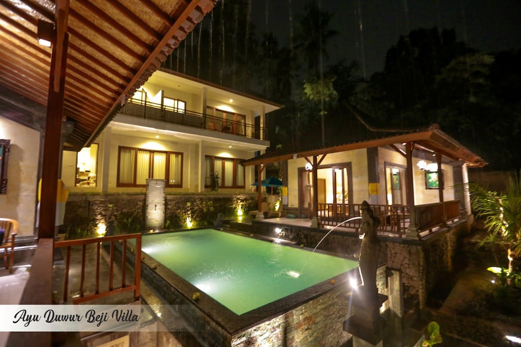 Guest House in the night