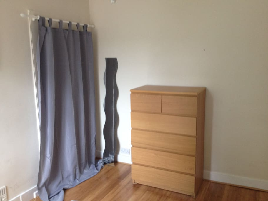 large chest of drawer and wardrobe