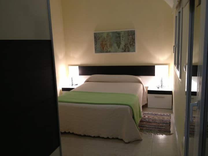 Double apartment - double bed. one