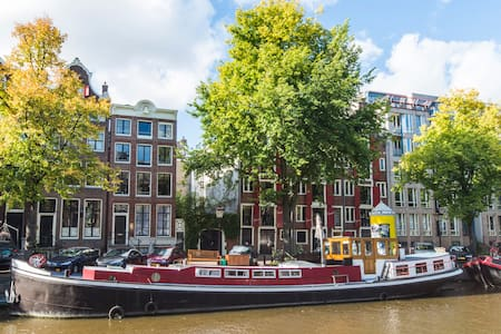 Beautiful Houseboat in A'dam Center - Amsterdam