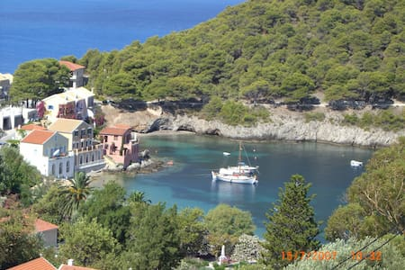 Double Room for Rent NIRIIDES Asos Kefalonia 2 - Άσος - Osakehuoneisto
