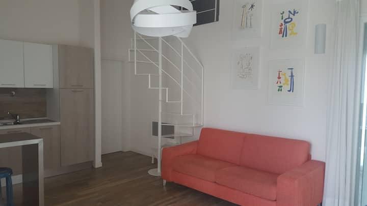 Confortevole appartamento in Brescia2 con terrazza
