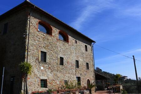Paesaggio, verde e relax - Uzzano - Huis