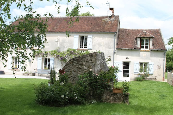 la maison de flo - Guérard - Casa