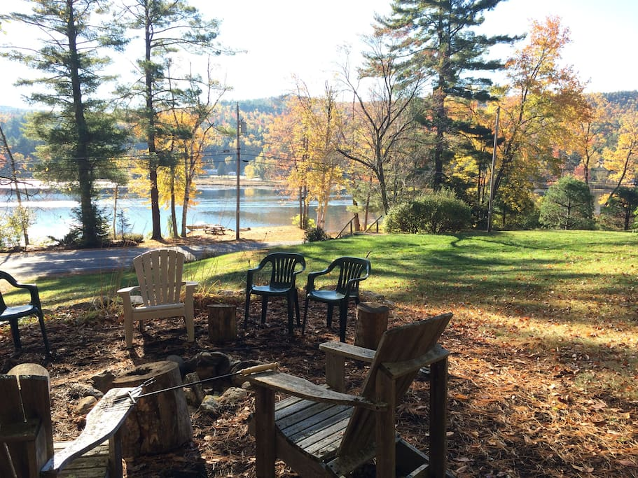 Fall Day at the fire pit