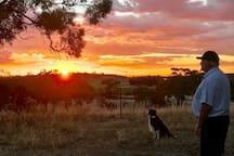 Enjoy stunning sunsets.