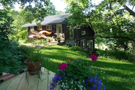 Cool, Scenic Country Art Studio - Mount Horeb - Hus