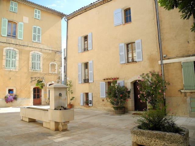 Maison de charme village provençal - Régusse - Casa