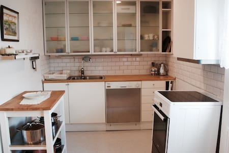 Near Oslo/Airp/Nature 1-5p,Great beds, Wifi,TV, - Rotnes - 公寓