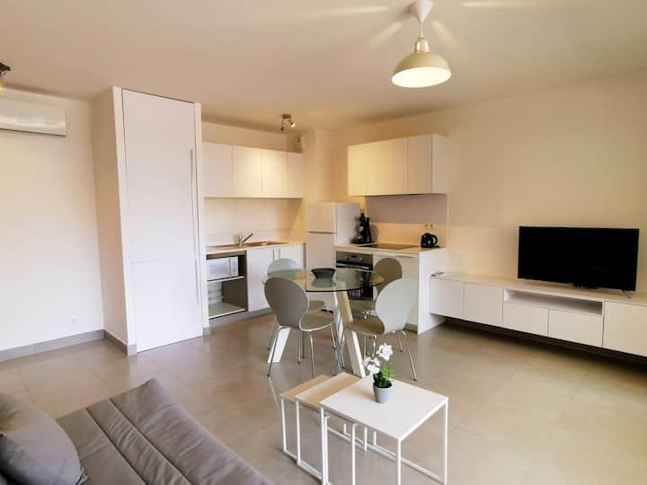 Bel appartement T2 quartier typique Bastiais