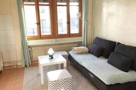 Cute & Cosy one bedroom flat in Geneva city center - Geneve - Huoneisto